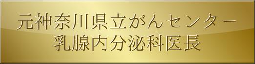 元神奈川県立がんセンター 乳腺内分泌科医長